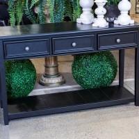 Beckincreek Black Sofa Table