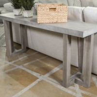 Lockthorne Gray Console Sofa Table