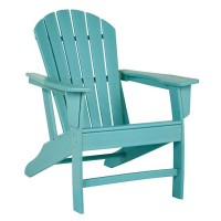 Sundown Treasure Turquoise Adirondack Chair