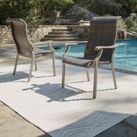 Windon Barn Brown Arm Chair (Includes 4)