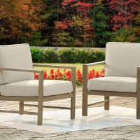 Fynnegan Light Brown Lounge Chair with Cushion (Includes 2)