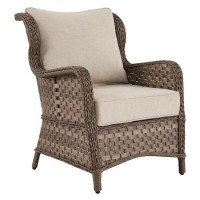 Clear Ridge Light Brown Lounge Chair with Cushion (Includes 2)