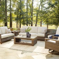 Paradise Trail Medium Brown Patio Group