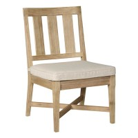 Clare View Beige Chair with Cushion (Includes 2)