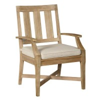 Clare View Beige Arm Chair With Cushion (Includes 2)