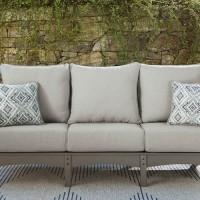 Visola Gray Sofa with Cushion