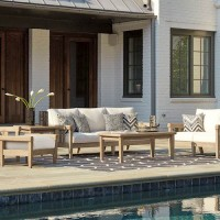 Gerianne Grayish Brown Patio Group