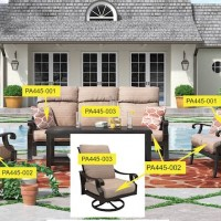 Chestnut Ridge Beige Patio Group