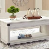 Bayflynn Whitewash Accent Table Set