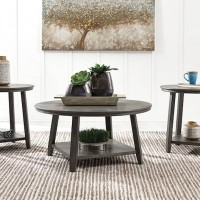Caitbrook Gray Occasional Table Set (Includes 3)