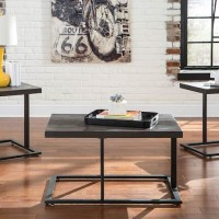 Airdon Gray Occasional Table Set (Includes 3)