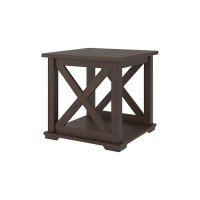 Camiburg Warm Brown Square End Table
