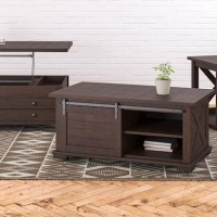 Camiburg Warm Brown Accent Table Set