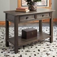 Wyndahl Rustic Brown Sofa Table