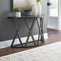 Sharzane Grayish Brown Sofa Table