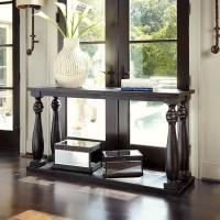Mallacar Black Sofa Table