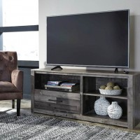 Derekson Multi LG TV Stand with Fireplace Option