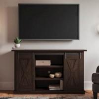 Camiburg Warm Brown Medium TV Stand