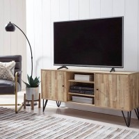 Gerdanet Natural Large TV Stand