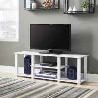 Baraga White TV Stand