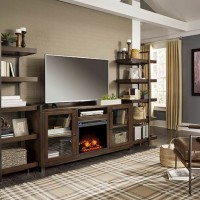 Starmore Brown/Gunmetal Entertainment Unit
