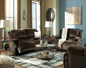 Clonmel Chocolate Living Room Group