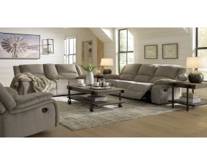 Draycoll Pewter Living Room Group