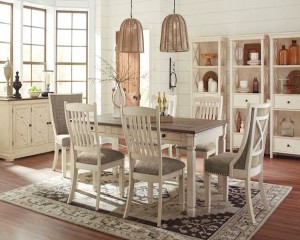 Bolanburg Antique White Dining Room Set