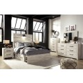 Cambeck Whitewash Bedroom Set