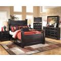 Shay Almost Black Bedroom Set
