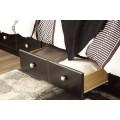 Mirlotown Almost Black Queen/King Under Bed Storage
