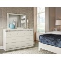 Dreamur Champagne Bedroom Mirror